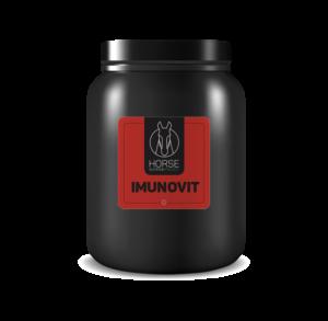 Imunotvit est un complément alimentaire pour chevaux de la marque HNP-Horse Nutrition Project