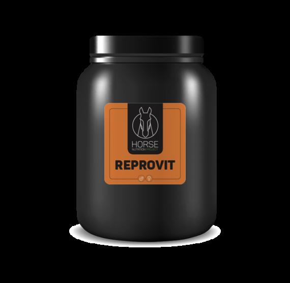 Reprovit est un complément alimentaire pour chevaux de la marque HNP-Horse Nutrition Project