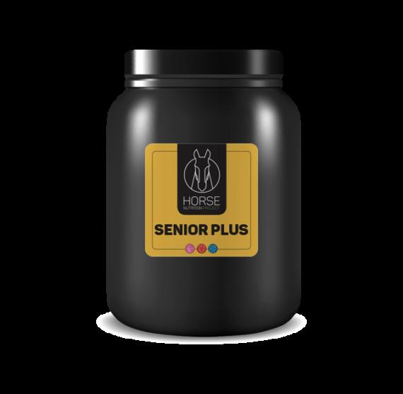 Senior plus est un complément alimentaire pour vieux chevaux de la marque HNP-Horse Nutrition Project