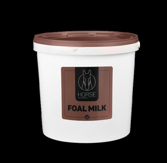 Foalmilk est un lait d'allaitement pour chevaux de la marque HNP-Horse Nutrition Project